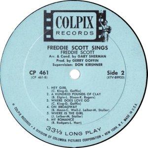 SCOTT FREDDIE 1963 D