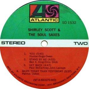 SCOTT SHIRLEY 1969 D
