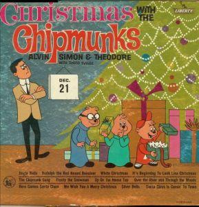 SEVILLE - CHIPMUNKS CHRISTMAS LP 1962