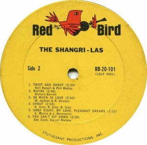 SHANGRI LAS 1965 D
