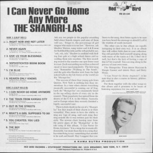 SHANGRI LAS 1965 F