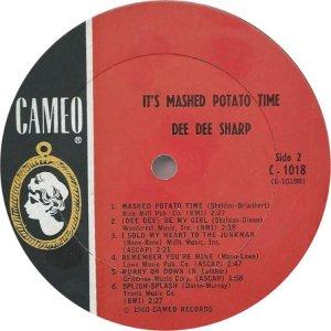 SHARP DEE DEE 1962 D