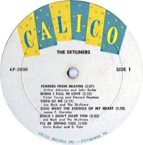 SKYLINERS 1959 B