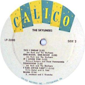 SKYLINERS 1959 C