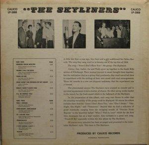 SKYLINERS 1959 D