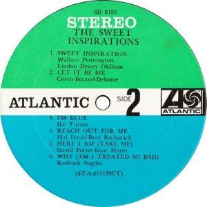 SWEET INSPIRATIONS 1967 D