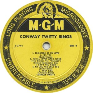 TWITTY CONWAY 1959 C