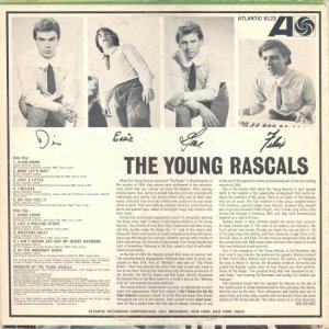 YOUNG RASCALS 1966 B