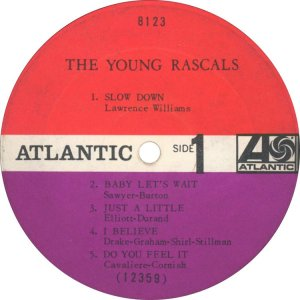 YOUNG RASCALS 1966 C