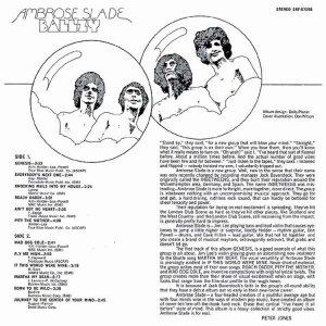 AMBROSE SLADE 1969 B