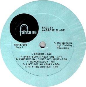 AMBROSE SLADE 1969 C