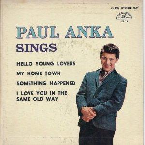 ANKA PAUL 1961 A