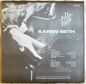 BETH KAREN 1969 B