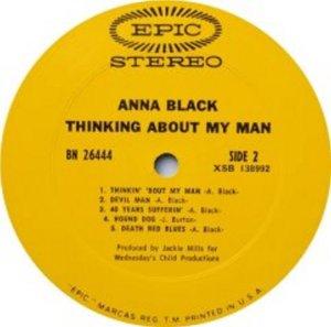 BLACK ANNA 1969 D