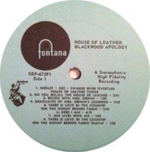 BLACKWOOD APOLOGY 1969 C