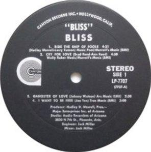 BLISS 1969 C