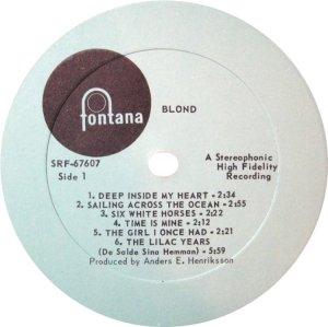BLOND 1969 C