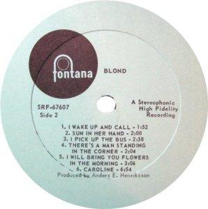 BLOND 1969 D