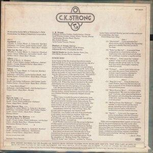 CK STRONG 1969 B