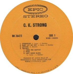 CK STRONG 1969 C