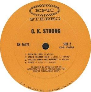 CK STRONG 1969 D
