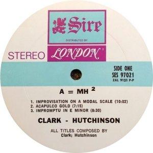 CLARK HUTCHINSON 1969 C