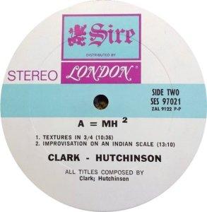 CLARK HUTCHINSON 1969 D