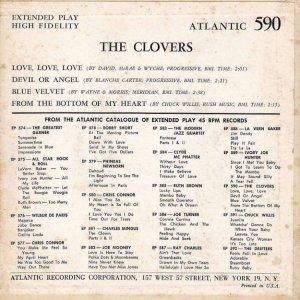 CLOVERS 1958 01 B