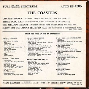 COASTERS 1959 01 B