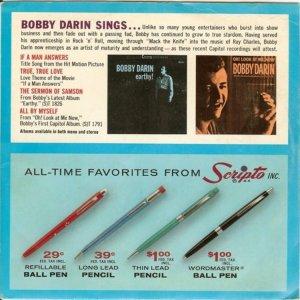 DARIN BOBBY 1962 01 B