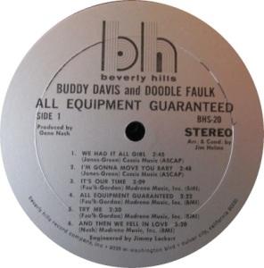 DAVIS AND FAULK 1969 B