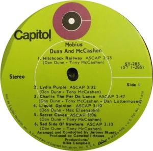 DUNN & MCCASHUN 1969 C