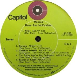 DUNN & MCCASHUN 1969 D