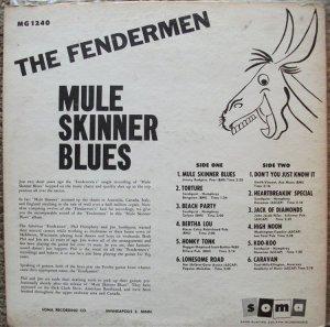 FENDERMEN 1960 B