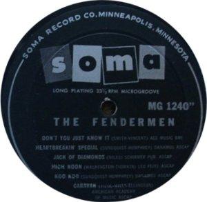 FENDERMEN 1960 C