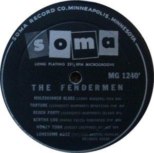 FENDERMEN 1960 D