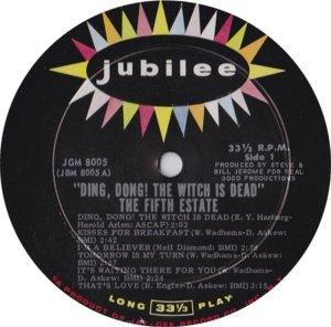 FIFTH ESTATE 1967 C