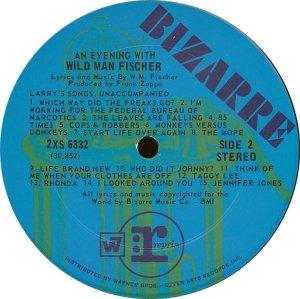 FISCHER WILD MAN 1969 D