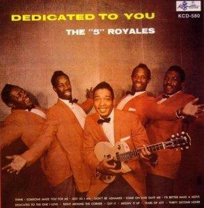 FIVE ROYALES 1957 A