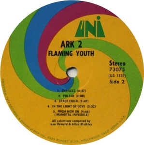 FLAMING YOUTH 1969 D