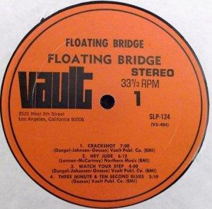 FLOATING BRIDGE 1969 C
