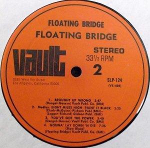FLOATING BRIDGE 1969 D