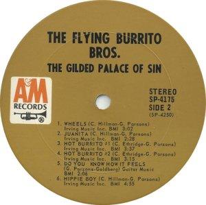 FLYING BURRITO BROS 1969 D