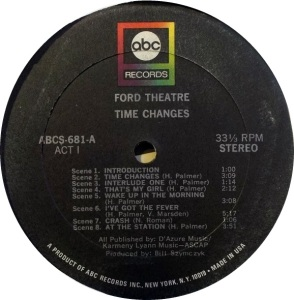 FORD THEATER 1969 C
