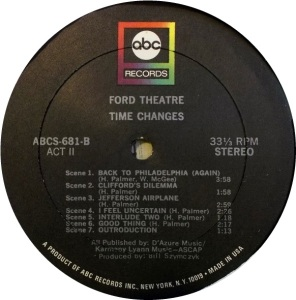 FORD THEATER 1969 D