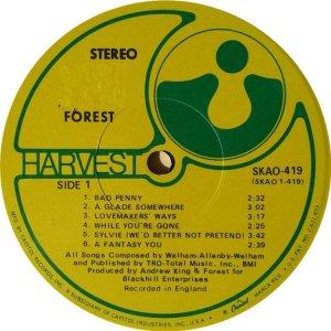 FORREST 1969 C