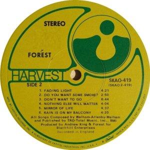 FORREST 1969 D