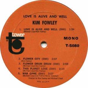 FOWLEY KIM 1967 C