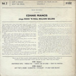 FRANCIS CONNIE 1959 13 B