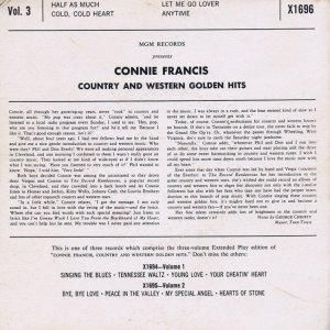 FRANCIS CONNIE 1959 17 B